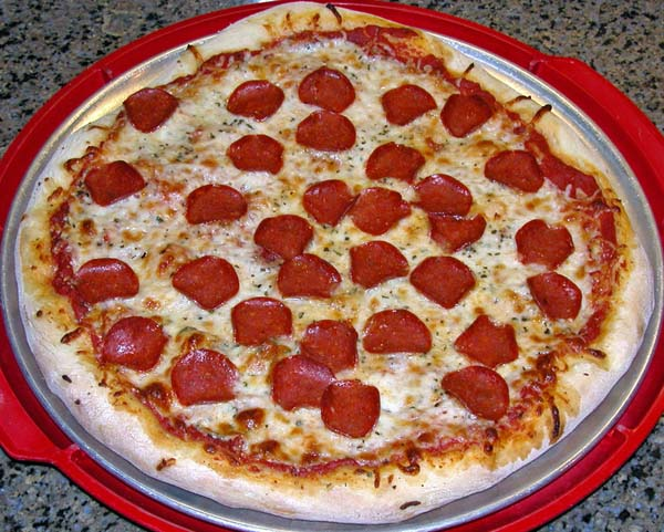 Traditional New York Style Pizza